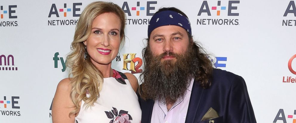 PHOTO: Korie Robertson and Willie Robertson attend A+E Networks 2015 Upfront at Park Avenue Armory on April 30, 2015 in New York City.