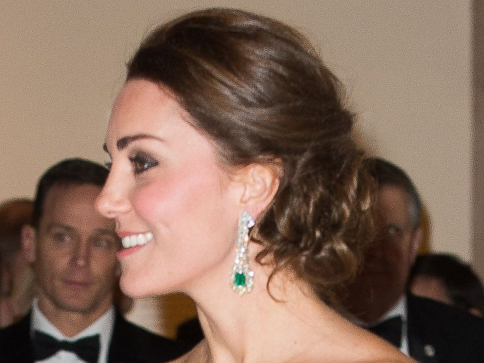 PHOTO: Catherine, Duchess of Cambridge attends the St. Andrews 600th Anniversary Dinner on December 9, 2014 in New York City.