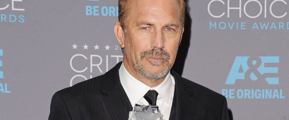 PHOTO: Actor Kevin Costner poses in the press room at the 20th Annual Critics Choice Movie Awards at Hollywood Palladium, Jan. 15, 2015, in Los Angeles.