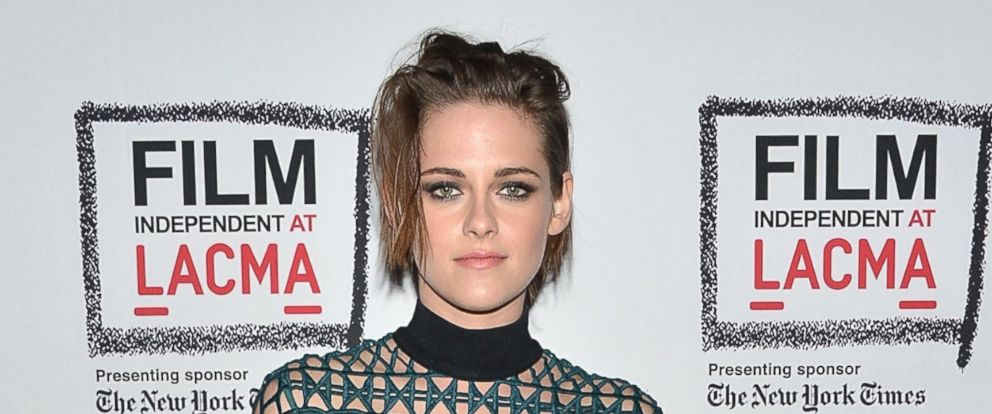 PHOTO: Kristen Stewart attends the Film Independent at LACMA screening and Q&A of Clouds Of Sils Maria at Bing Theatre At LACMA, April 3, 2015, in Los Angeles.
