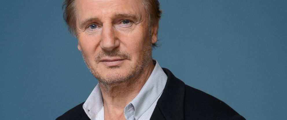 PHOTO: Actor Liam Neeson of Third Person poses at the Guess Portrait Studio during 2013 Toronto International Film Festival on September 10, 2013 in Toronto, Canada.