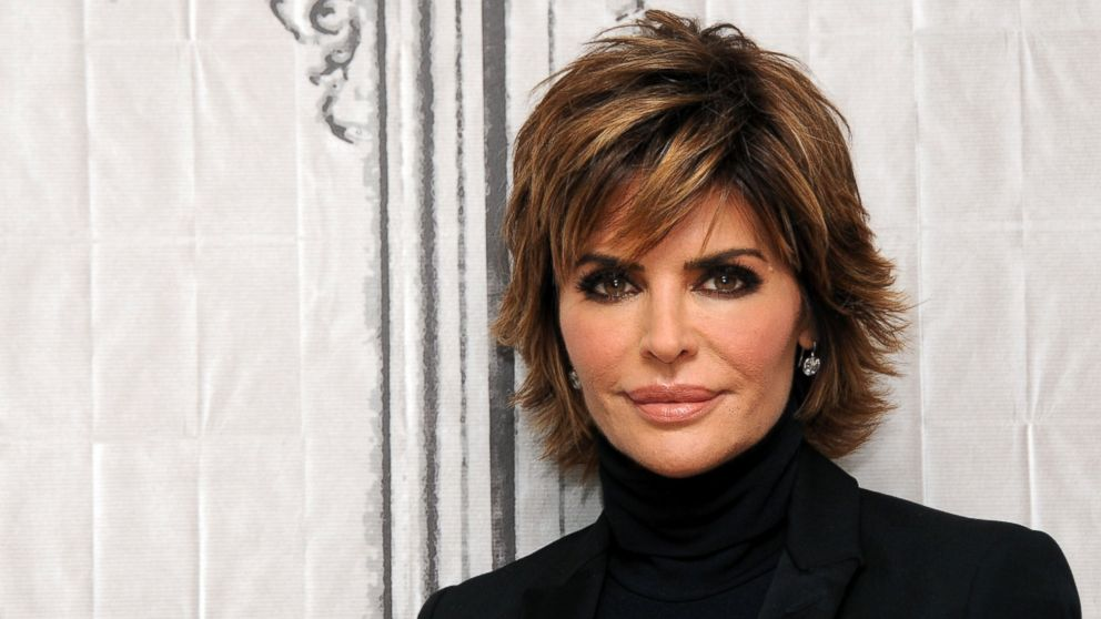 "Actress Lisa Rinna of ""Real Housewives of Beverly Hills"" at AOL Studios In New York on Dec. 8, 2015."