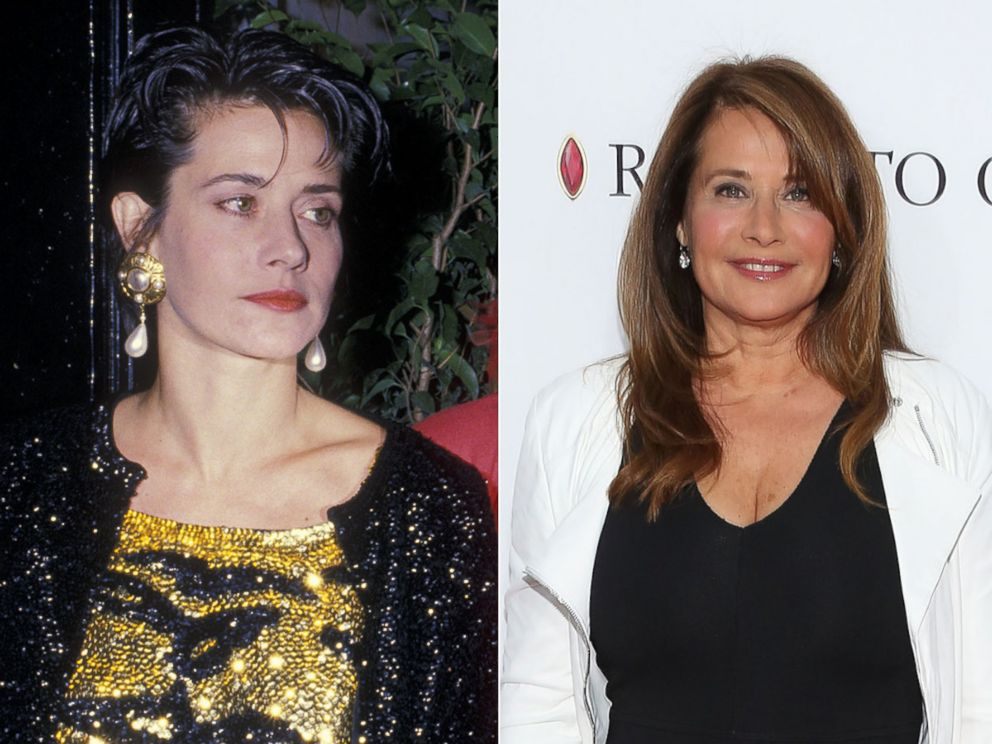 PHOTO: Lorraine Bracco is seen, Oct. 5, 1988, at the 16th Regiment Armory in New York. Right, Lorraine Bracco attends the closing night screening of Goodfellas during the 2015 Tribeca Film Festival at Beacon Theatre, April 25, 2015, in New York.