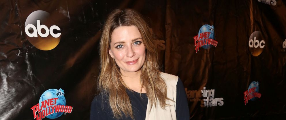 "PHOTO: Mischa Barton poses at the 22nd Season Stars of ABCs ""Dancing With The Stars"" cast announcement at Planet Hollywood Times Square on March 8, 2016 in New York City."