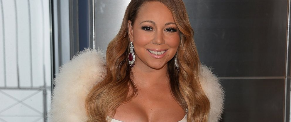 PHOTO: Mariah Carey attends the 20th annual Valentines Day Wedding Event at The Empire State Building on Feb. 13, 2014 in New York.