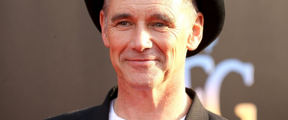 "PHOTO: Mark Rylance arrives at the Los Angeles premiere of Disneys ""The BFG"" held at the El Capitan Theatre, June 21, 2016, in Hollywood, Calif."