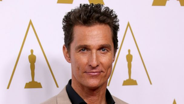 PHOTO: Matthew McConaughey arrives at the 86th Oscars Nominees Luncheon at the Beverly Hilton Hotel on February 10, 2014.