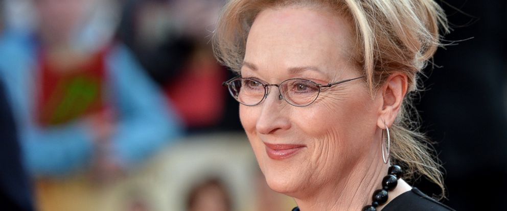 """PHOTO: Meryl Streep attends the World film premiere of """"Florence Foster Jenkins"""" at Odeon Leicester Square on April 12, 2016 in London."""