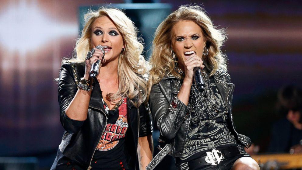 Miranda Lambert & Carrie Underwood ile ilgili görsel sonucu