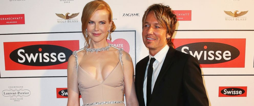 PHOTO: Actress Nicole Kidman and Keith Urban attend the Celebrate Life Ball at Grand Hyatt Melbourne, June 13, 2014 in Melbourne, Australia.
