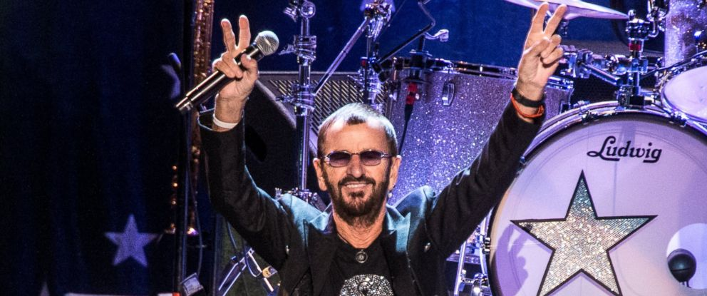 PHOTO: Ringo Starr and His All-Starr Band perform at Kings Theatre on Oct. 31, 2015 in the Brooklyn Borough of New York City.