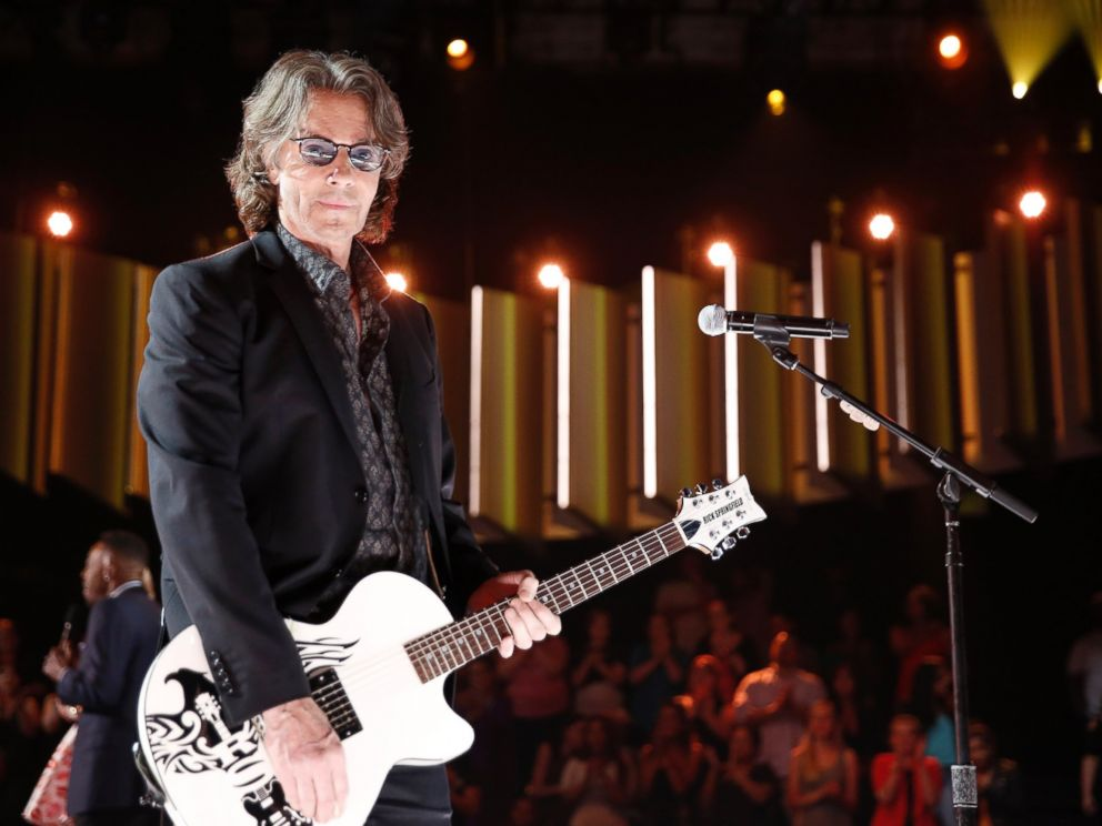 PHOTO: Rick Springfield is seen here May 27, 2016.