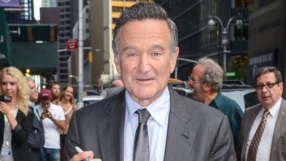 Actor Robin Williams is seen walking, Sept. 25, 2013, in New York.