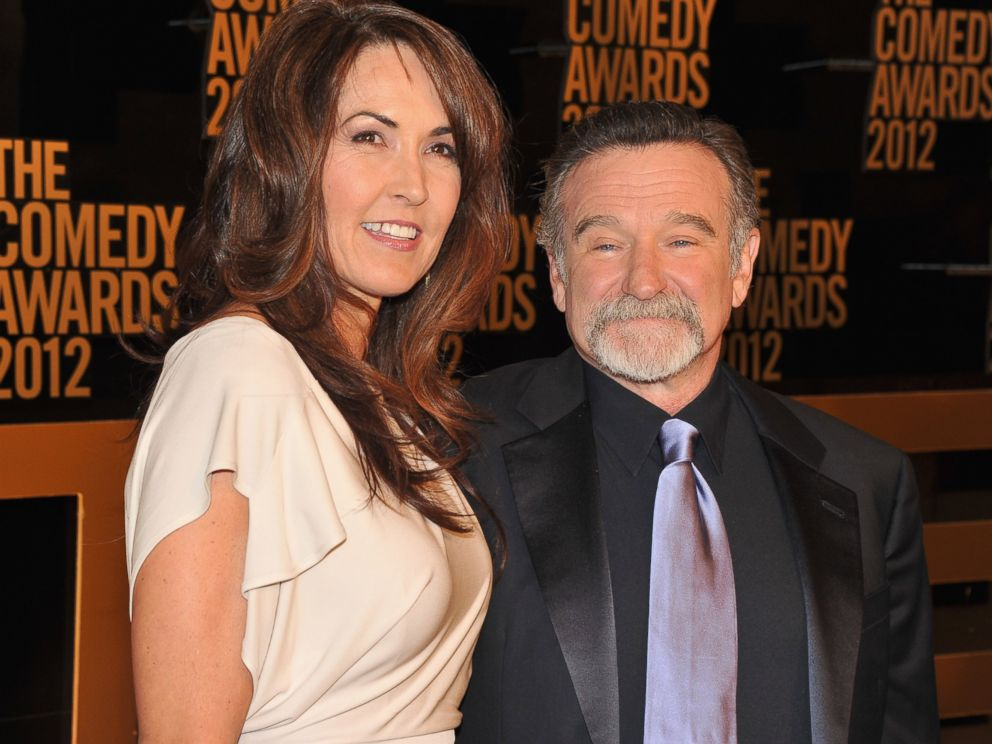 PHOTO:In this file photo, Susan Schneider and Robin Williams attend The Comedy Awards 2012, April 28, 2012 in New York.