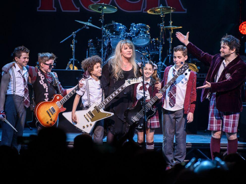 Stevie Nicks Shocks School Of Rock Audience With Surprise