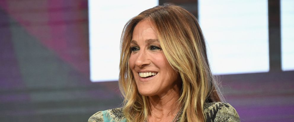 """PHOTO: Sarah Jessica Parker speaks onstage during the """"Divorce"""" panel discussion at the HBO portion of the 2016 Television Critics Association Summer Tour at The Beverly Hilton Hotel, on July 30, 2016, in Beverly Hills, California."""