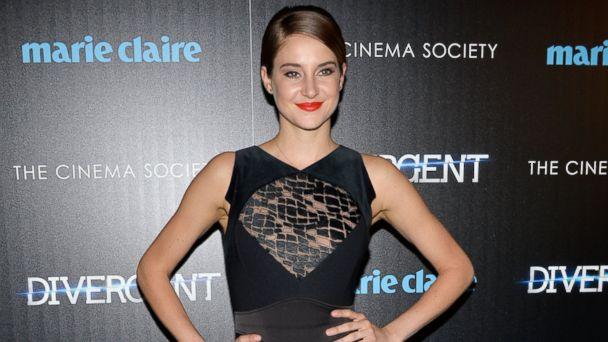 Shailene Woodley Rocks the Divergent Red Carpet