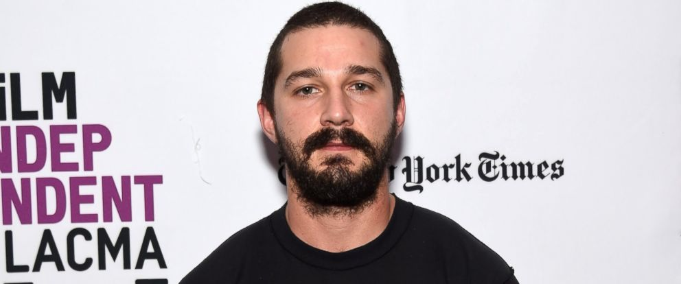 """PHOTO: Actor Shia LaBeouf attends the Film Independent Live Read of """"Dr. Strangelove"""" with guest director Mark Romanek at the Bing Theatre at LACMA, Jan. 21, 2016, in Los Angeles."""