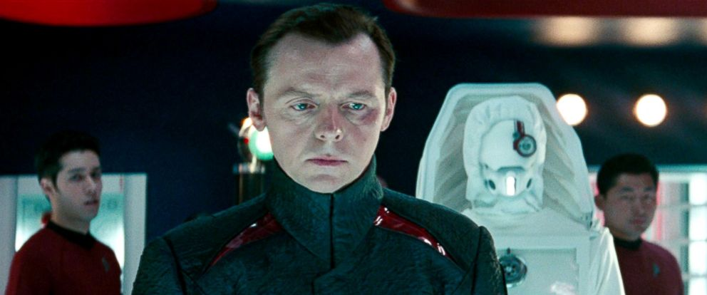 "PHOTO: Simon Pegg as Montgomery ""Scotty"" Scott in the 2013 movie, ""Star Trek: Into Darkness."""