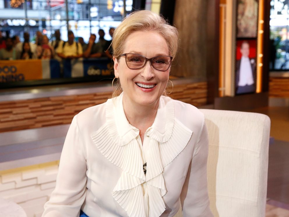 Meryl streep recalls meeting al pacino when i was nobody abc news photo meryl streep is a guest on good morning america on aug 9 m4hsunfo Gallery