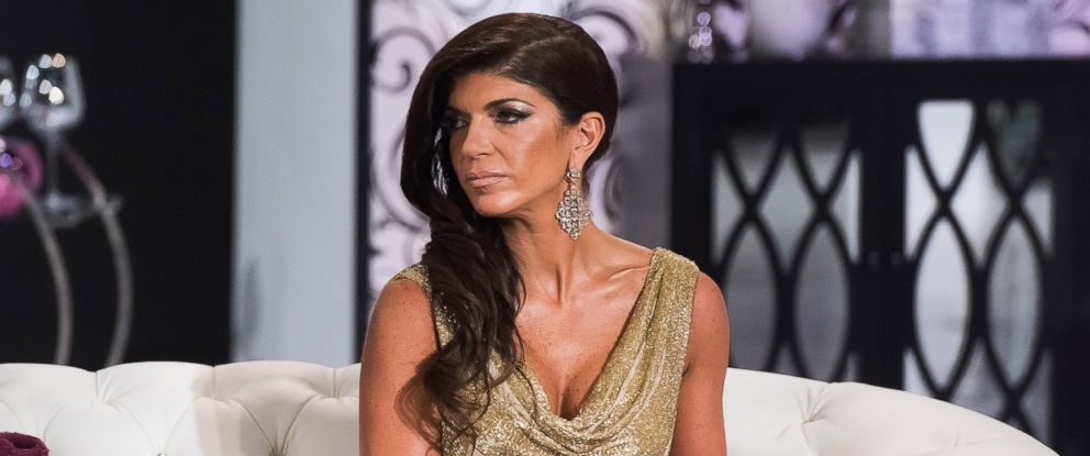 "PHOTO:Teresa Giudice is seen during the taping of ""The Real Housewives of New Jersey,"" Reunion, Oct. 5, 2014."