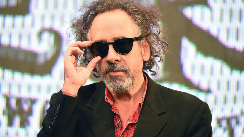 Director Tim Burton attends the opening ceremony of the World of Tim Burton exhibition at Roppongi Hills arena, Oct. 31, 2014 in Tokyo.