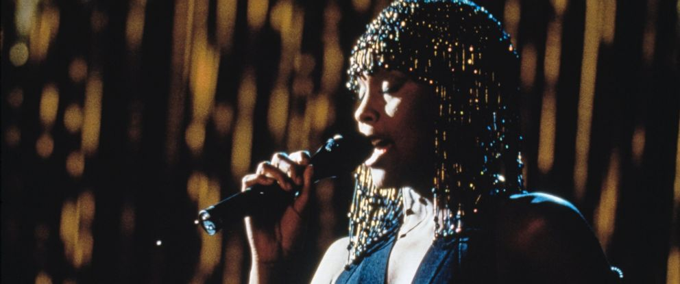 "PHOTO: American singer and actress Whitney Houston stars in the film ""The Bodyguard,"" in 1992."