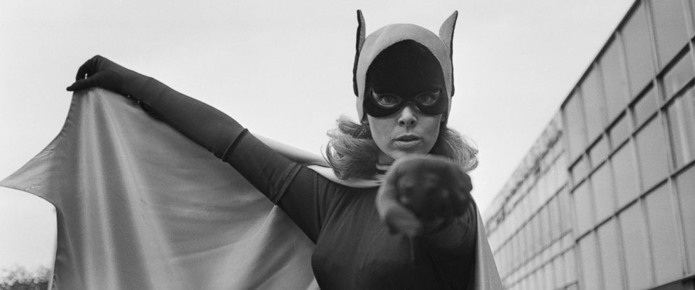 "PHOTO: American ballet dancer and actress Yvonne Craig, best known for her role as Batgirl from the TV series ""Batman"", is seen in this file photo from 1967."