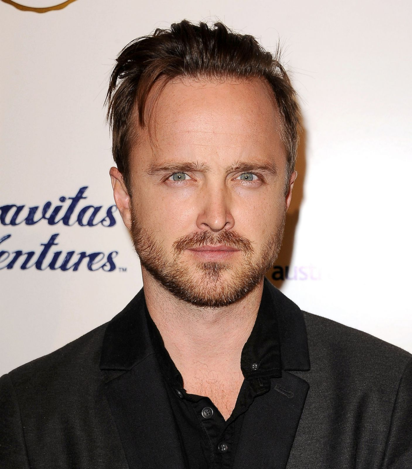 Aaron Paul Gets Serious At The Felony Premiere Picture Octobers