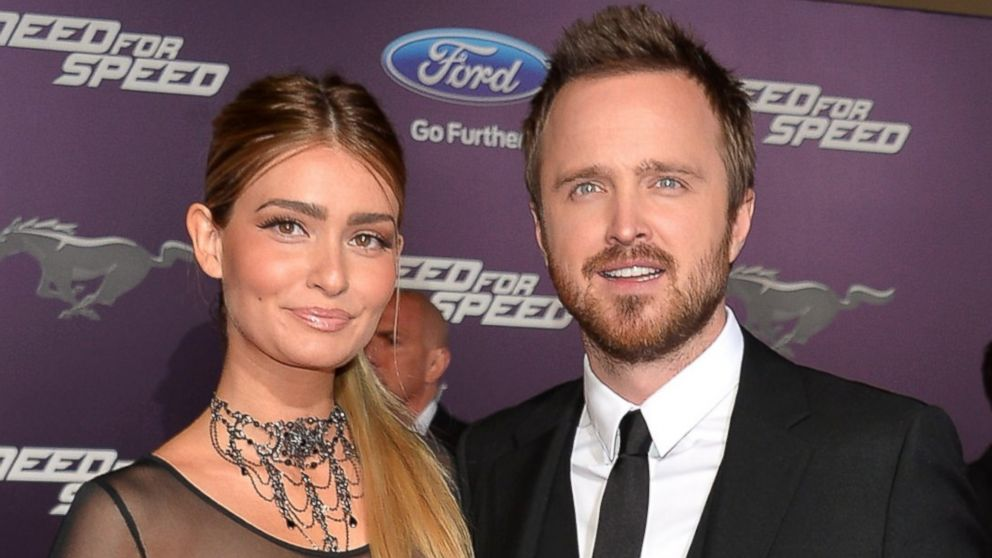Aaron Paul Reveals He Tried to Married His Wife on Their ... Aaron Paul Wife