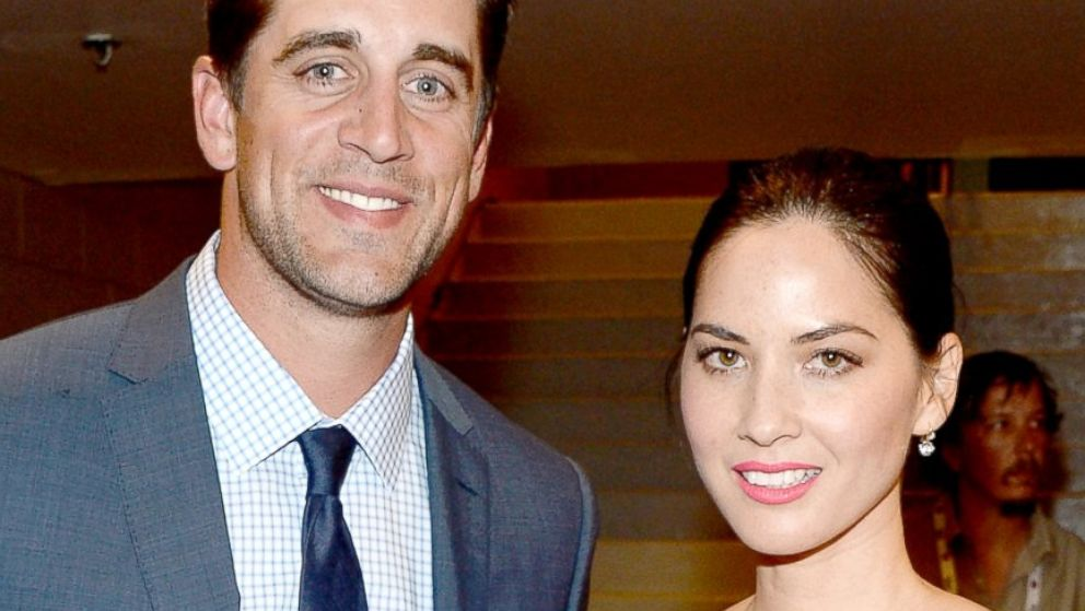 Aaron Rodgers Opens Up On Dating Actress Olivia Munn Abc News