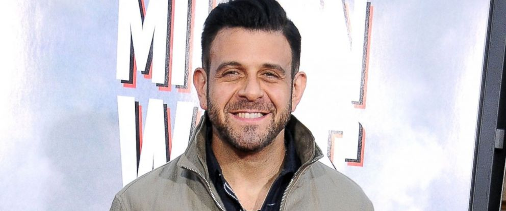 PHOTO: Adam Richman arrives at the Los Angeles Premiere A Million Ways To Die In The West, May 15, 2014, at Regency Village Theatre in Westwood, Calif.