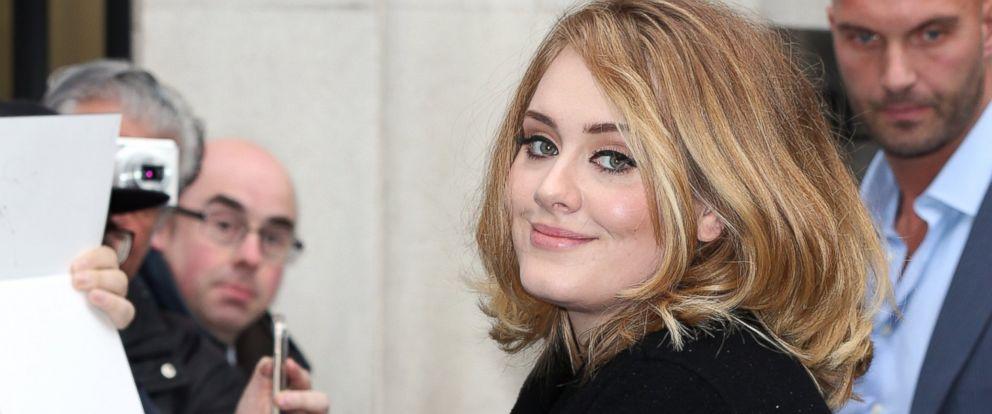 PHOTO: Adele seen at BBC Radio 2, Oct. 23, 2015, in London.