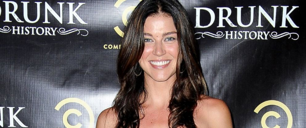 "PHOTO: Adrianne Palicki arrives at Comedy Centrals ""Drunk History"" season 2 premiere party at the Alex Theatre, June 29, 2014, in Glendale, Calif."