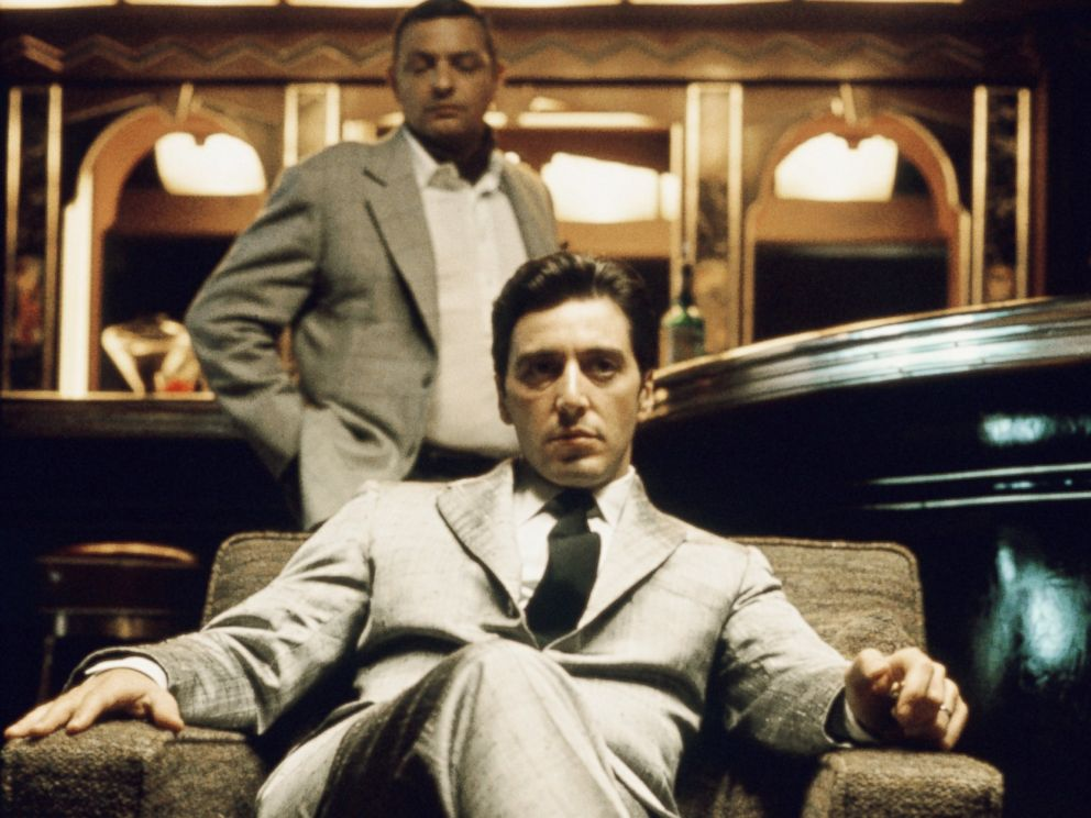 PHOTO: Al Pacino is pictured in a publicity still for The Godfather Part II in 1974.