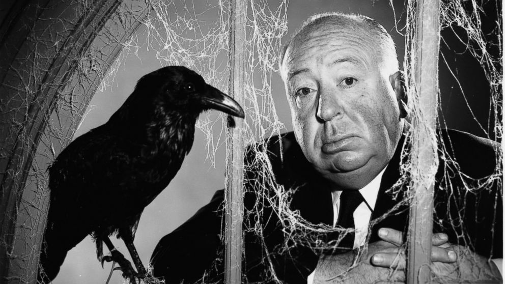 Director Alfred Hitchcock (1899 - 1980) in 1955.