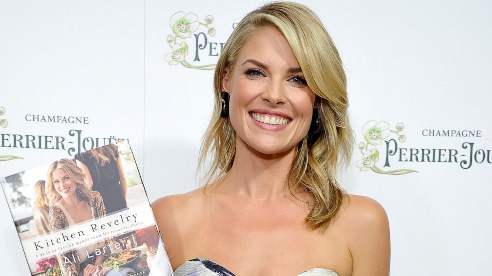 "Ali Larter celebrates the release of her new cookbook ""Kitchen Revelry,"" Aug. 27, 2013, in West Hollywood, Calif."