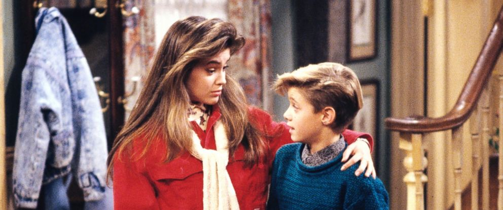 "PHOTO: Alyssa Milano and Danny Pintauro are seen here in an undated file photo during an episode from ""Whos the Boss."""