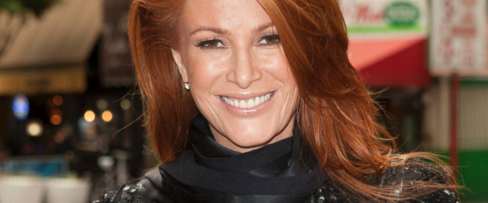 PHOTO: Angie Everhart attends the House Of 11 Spring/Summer 2014 Press Preview in Los Angeles