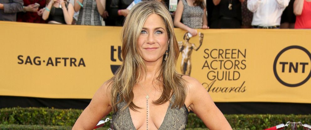 PHOTO: Actress Jennifer Aniston attends TNTs 21st Annual Screen Actors Guild Awards at The Shrine Auditorium, Jan. 25, 2015, in Los Angeles.