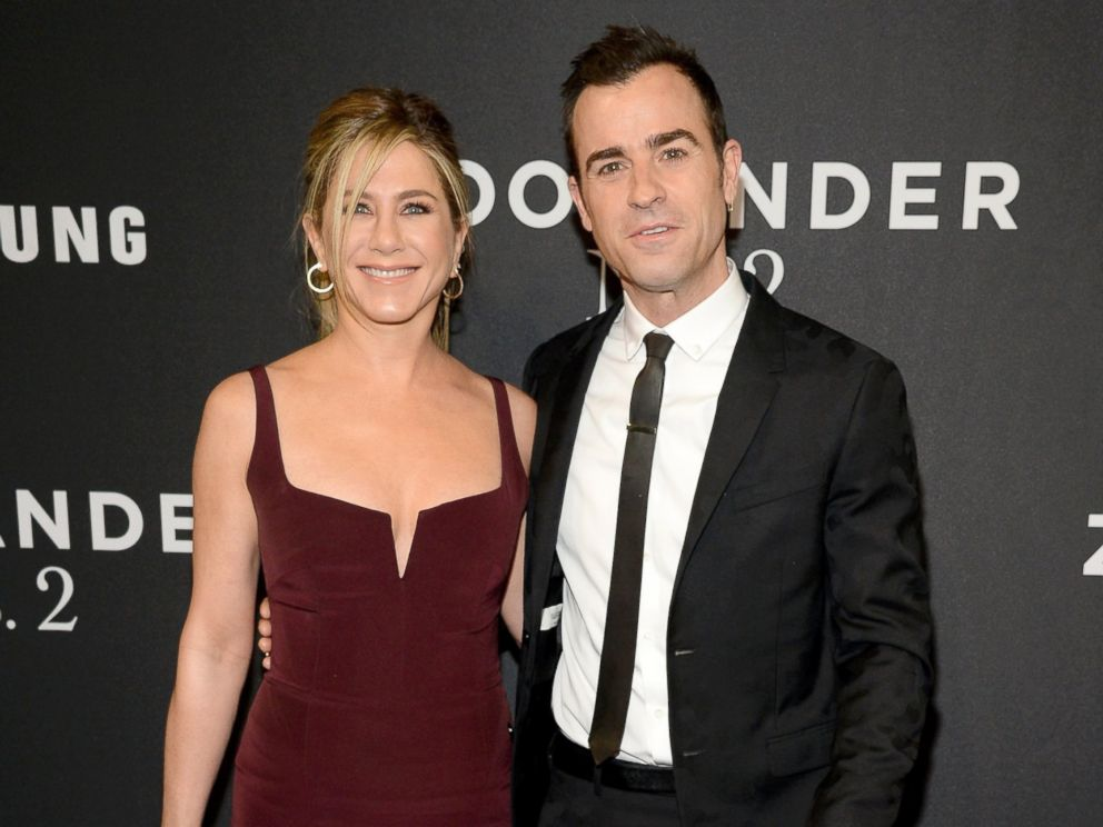 PHOTO: Jennifer Aniston and Justin Theroux attend the Zoolander 2 World Premiere at Alice Tully Hall, Feb. 9, 2016, in New York City.