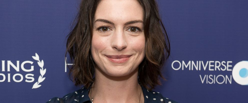 PHOTO: Anne Hathaway is pictured on June 15, 2015 in New York City.