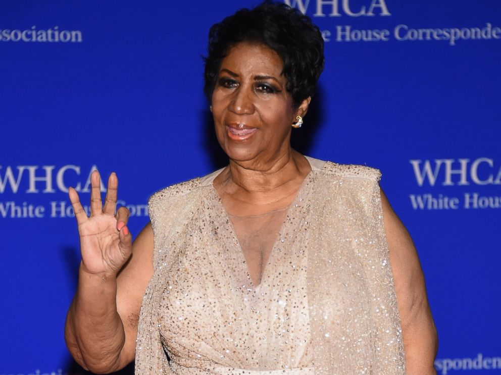 Aretha Franklin Tributes on Display at Detroit's Most Famous Buildings