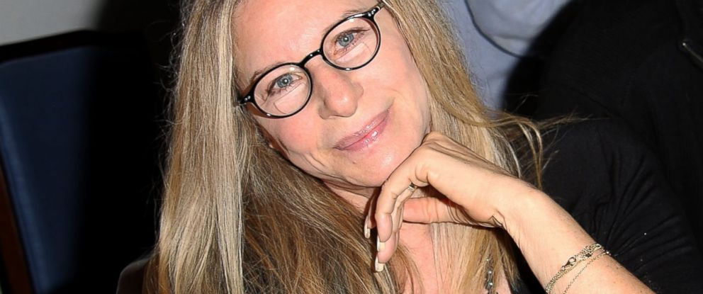 """PHOTO: Barbra Streisand attends the """"And So It Goes"""" premiere at Guild Hall, July 6, 2014, in East Hampton, N.Y."""