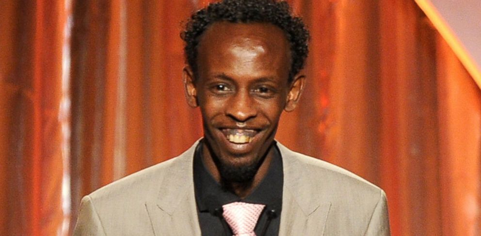 PHOTO: Barkhad Abdi speaks onstage during the 25th annual Producers Guild of America Awards on Jan. 19, 2014 in Beverly Hills, Calif.