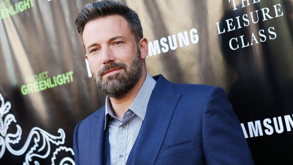 """Ben Affleck arrives at The Project Greenlight season 4 winning film """"The Leisure Class,"""" Aug. 10, 2015 in Los Angeles."""