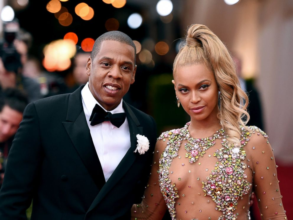 PHOTO: Jay-Z and Beyonce attend the China: Through The Looking Glass Costume Institute Benefit Gala at the Metropolitan Museum of Art, May 4, 2015, in New York City.
