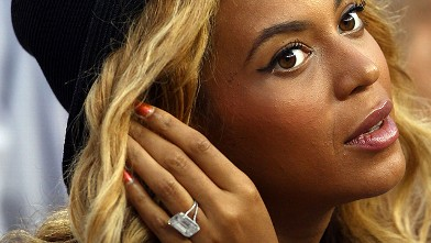PHOTO: Beyonce Watches The 2011 US Open At The USTA Billie Jean King  National Tennis