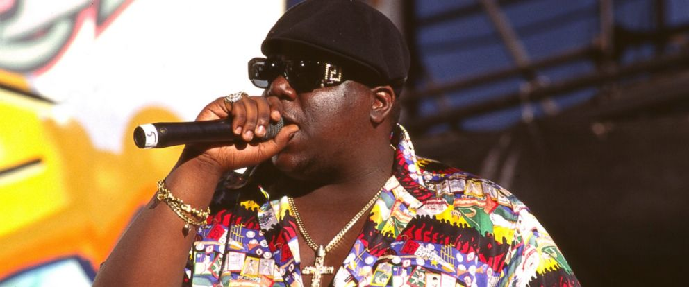 PHOTO: Notorious B.I.G. is pictured in 1995 in Los Angeles.