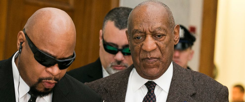PHOTO: Bill Cosby arrives for the second day of hearings at the Montgomery County Courthouse, Feb. 3, 2016, in Norristown, Pa.